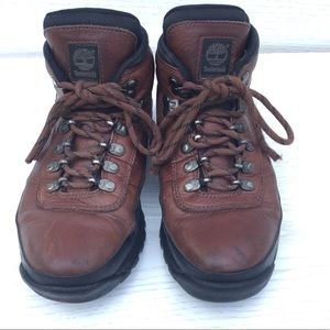 Timberland Women's Leather Trail Hiking Boots 8 M